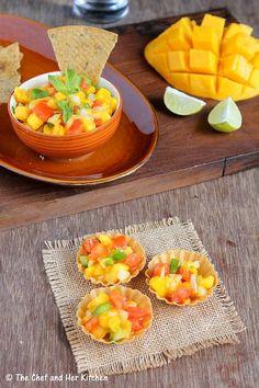 Mango Salsa Recipe | Easy Mexican Recipes