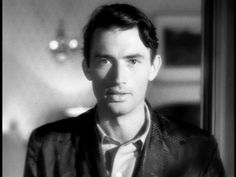 gregory peck in spellbound (alfred hitchcock), 1945 (x)