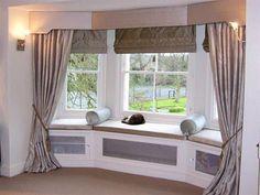 bay window treatment ideas | ... Window Treatment Options for Bay Windows | Smart Home Decorating Ideas