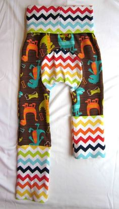 Maxaloones! These super stretchy pants fit perfectly over diapers, especially fluffy cloth diapers! They can be made with or without the bum panel for children who are no longer in diapers. The best part about these pants (other than the amazing prints to choose from)?... There are only three sizes that fit ...