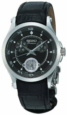9ab65b2d6 Seiko Premier Quartz Day - Date Watch # SUK005P1 (Women Watch), Seiko  Premier