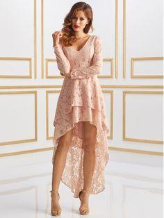 Sukienka Shelly  w  kolorze różowym