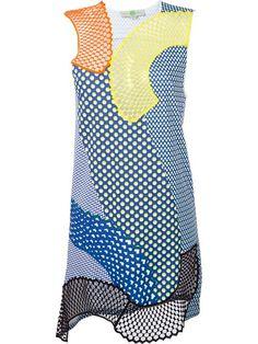 Shoppen Stella McCartney Ärmelloses ''Mesh Mix' Kleid von Tiziana Fausti aus den weltbesten Boutiquen bei farfetch.com/de. In 400 Boutiquen an einer Adresse shoppen.