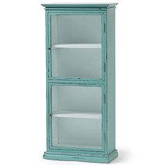 Nordal Vintage Portabello Glass Cabinet