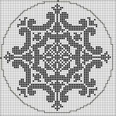 more ornament goodness Biscornu Cross Stitch, Cross Stitch Borders, Cross Stitching, Cross Stitch Embroidery, Cross Stitch Patterns, Filet Crochet Charts, Knitting Charts, Pixel Pattern, Cross Stitch Collection