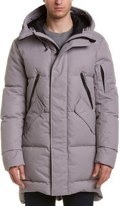 E Beige Krakatoa Winter jacket with zip off sleeves to become a gilet