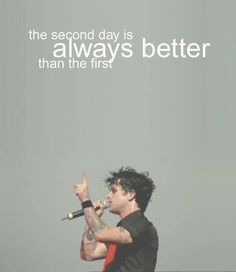 remember one thing... #GreenDay