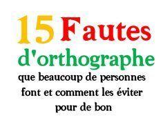 15 fautes d'orthographe que beaucoup de personnes font (et comment les éviter pour de bon) - Livres PDF de FrenchPDF Télécharger livres pdf
