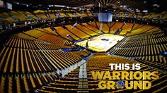This is #WarriorsGround