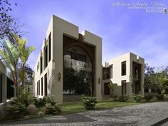 MODERN ARABIC VILLA by WEIRD