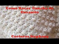 COMO HACER GANCHO DE GUSANITOS - YouTube