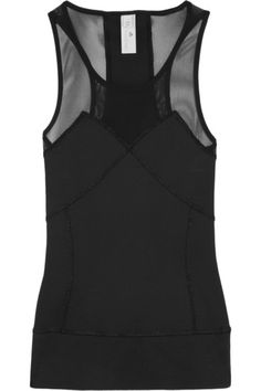 ADIDAS BY STELLA MCCARTNEY Run Climalite® stretch and mesh tank For my #BoostBastille sessions