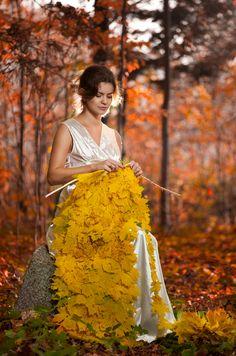 Autumn Knitting by IRINA KHUTORNAYA
