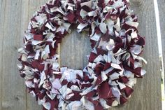Support your favorite team with this Texas A&M University rag wreath. Show that Aggie pride. This rag wreath is the perfect addition to your door. Couple Gifts, Burlap Wreath, Groom, Great Gifts, University, Wedding Day, Texas, Wreaths, Bride