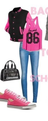 Back To School Outfit! not the jacket tho. just my opinion