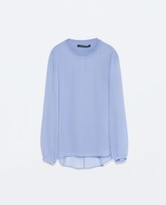 Image 8 of LONG-SLEEVE TOP from Zara