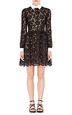 Valentino Lace Bambolina Dress - Short - Barneys.com