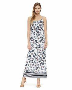 Costa Blanca Print Maxi Dress