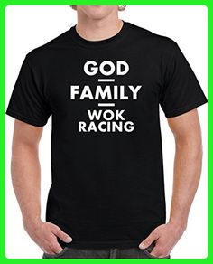 God Family Wok Racing Unisex T Shirt 2XL Black - Relatives and family shirts (*Amazon Partner-Link)