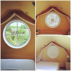 BEFORE    AFTER  Shaped shutter #hannanblinds