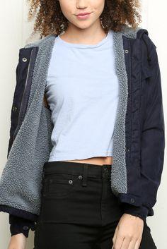 Brandy ♥ Melville | Hailey Fur Jacket - Clothing