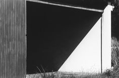 Ellsworth Kelly -Hangar Doorway, St. Barthélemy1977 - Gelatin silver print