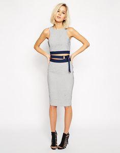 Lavish Alice | Lavish Alice Pencil Skirt in Polka Dot at ASOS