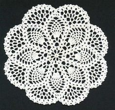Free crochet pattern for doily