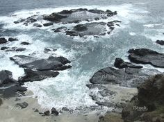Natural beach in the Pacific stock photo 58784498 - iStock - iStock ES