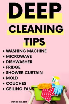 Spring cleaning checklist, Declutter Your Home, How To Declutter Your Home, organization ideas for t Spring Cleaning Schedules, Deep Cleaning Checklist, Deep Cleaning Tips, Natural Cleaning Products, Cleaning Calendar, Schedule Calendar, Speed Cleaning, Cleaning Day, Beauty Routine Schedule