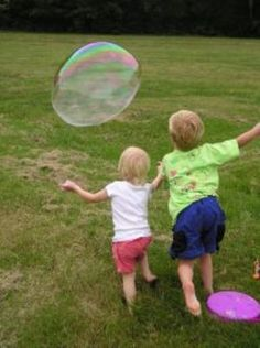 How to Make Homemade Bubbles and Bubble Wands - Yahoo! Voices - voices.yahoo.com