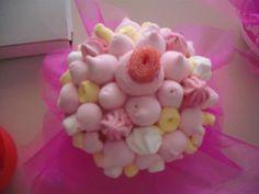 centrotavola marshmallow matrimonio