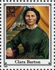 5c-6 CLARA BARTON-FOUNDER-AMERICAN RED CROSS 5th Great Grandmother