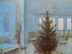'Grantræet' - 'The Fir Tree'  by Hans Christian Andersen   illustrated by Svend Otto S. aka Svend Otto Sørensen (1916-96)