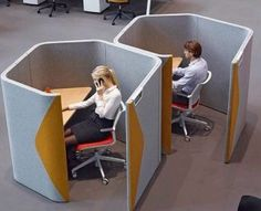 Acoustic Pods for Telesales Sales Staff