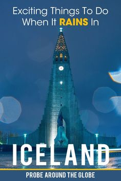 What to do in Iceland when it rains? These 11 Iceland indoor activities are perfect for rainy days in Reykjavik and the rest of Iceland Iceland Travel Tips, Iceland Road Trip, Europe Travel Tips, Travel Guides, Travel Destinations, European Destination, European Travel, Travel Scandinavia, Backpacking Europe