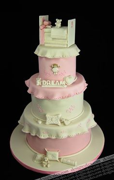 Good for having this cake at a baby shower