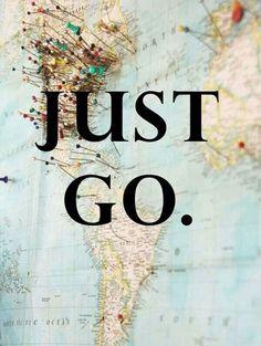 """Just go"" #ArrivalGuides #travel"