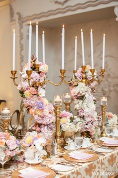 A Lush, Pastel-Perfect Wedding - WedLuxe Magazine - WedLuxe – A Lush, Pastel-Perfect Wedding Pastel Wedding Theme, Gold Wedding Colors, Vintage Wedding Theme, Chic Wedding, Spring Wedding, Perfect Wedding, Wedding Flowers, Dream Wedding, Luxury Wedding
