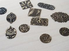 Using a Die-Cutting Machine to Emboss Metal - Inside Jewelry Stringing Magazine - Beading Daily
