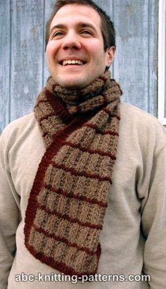 Free Knitting Pattern - Scarves: Irish Shepherd Scarf