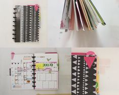 "Discbound Planner templates by Ahhh Design #diyplanner - Free weekly planner templates in 5.5"" by 8.5"" - HOORAH! xo"