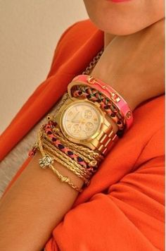 Armbanduhr am arm damen  Michael Kors MK5859 Damen- Armbanduhr mit Chronograph Rosegold NEU ...