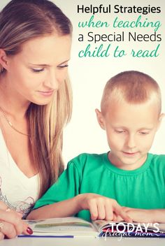 Are you teaching a Special Needs child to read? If so, here are 5 helpful tips to help you in your journey. :: todaysfrugalmom.com