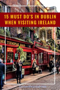 Cool things to do in Dublin. There is so much to do in Dublin and these 21 cool sights, and unusual things to do in Dublin will keep you off the beaten path Dublin Travel, Ireland Travel, Dublin Shopping, Paris Travel, Dublin Food, Book Of Kells, European Destination, European Travel, European Vacation