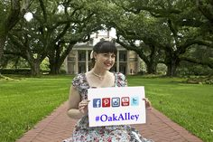 Come visit Oak Alley Plantation on social media!  #OakAlley