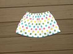 Girls twirly skirt Girls mulicolor or any by EverythingSorella, $24.50