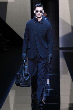 Giorgio Armani   Menswear - Autumn 2017   Look 61