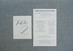 Country Rustic Pastel Floral Banner Wedding Program  by LamaWorks