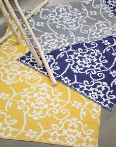 Home Fabrics has launched their new trend-focused rug collection and we love it Shades Of Yellow, Rugs On Carpet, Carpets, Outdoor Rugs, Handmade Rugs, Artisan, Product Launch, Flooring, Alabama